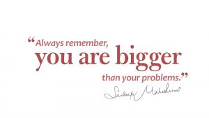You are Bigger then your Problems - Sandeep Maheshwari